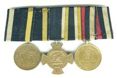 Pair ; Franco Prussian 1870-71 war medal  3 bars Gravellotte-St. Description from liverpoolmedals.com. I searched for this on bing.com/images