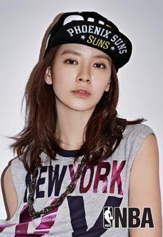 NBA X Song Ji Hyo
