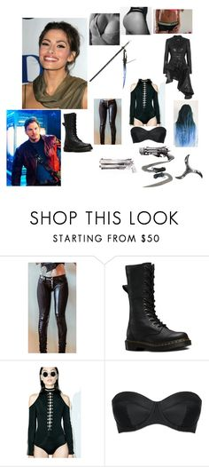 """Anahita Khosrau"" by jessys-wonderland ❤ liked on Polyvore featuring Vision, Dr. Martens, Wow Couture, L'Agent By Agent Provocateur and Haider Ackermann"