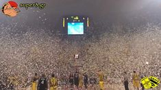 Aris Thessaloniki - Superb performance by ARIS' fans // what a crazyness wow. ..