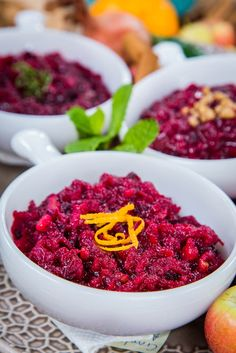 Cristina makes four different Cranberry Sauces for Thanksgiving!  Catch #homeandfamily weekdays at 10/9c on Hallmark Channel!