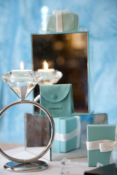"Photo 7 of 20: TIFFANY & CO / Birthday ""Glitz and Glamour in blue"" 