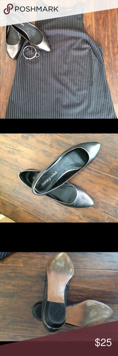 Luxury Rebel Flats Grey pewter Luxury Rebel flats. Leather upper with a manmade sole. These are in great condition and only worn a few times. The sole is deceiving, I scuffed it on purpose during the winter so I didn't slip. Luxury Rebel Shoes Flats & Loafers