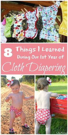 8 Things I Learned During Our First Year of Cloth Diapering - Southern Made Simple