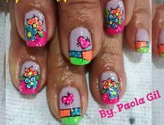 Colors Nail Art, Colors, Beauty, Enamel, Cute Nails, Nail Designs, Ladybugs, Hands, Tattoo Ideas