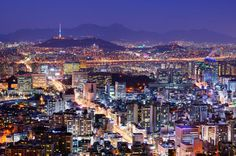 Nice to be back in Seoul, South Korea.