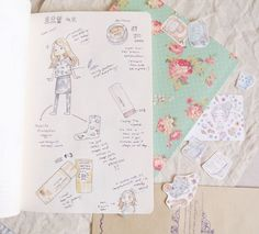 Just some quick daily drawings from way back, when I really wanted a hobonichi but settled for my sketchbook. :) PLANNER SETUP OF AN ILLUSTRATOR - Journals and Sketchbooks � evydraws