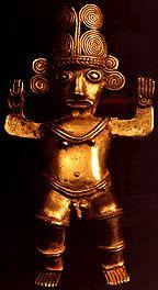 Dios De Sol, Gold Weight 24000 (mg) Tairona