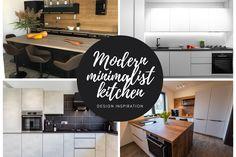 Minimalist and modern kitchen design for your inspiration. #kitchen #modernkitchen #kitchendesign #kitchenfurniture #kitchenideas #KUXAstudio #KUXA #KUXAkitchen #bucatariemoderna #bucatarieinsula #blackkitchen #woodaccents #whiteandwoodkitchen #minimalistkitchen #mattekitchen #islandconfiguration #kitchenislandconfiguration Minimalist Kitchen, Modern Minimalist, Kitchen Design, Design Inspiration, Furniture, Home Decor, Minimalistic Kitchen, Minimal Kitchen, Decoration Home