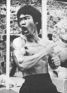 I will look like this!   Bruce Lee