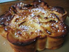 Gâteau moelleux aux pommes reinettes