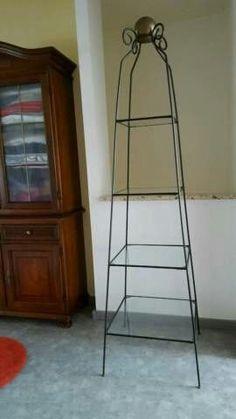 Stahl Pyramidenregal mit 4 Glasböden in Saarland - Völklingen   Regale gebraucht kaufen   eBay Kleinanzeigen