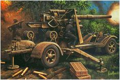 La Pintura y la Guerra. Sursumkorda in memoriam Military Weapons, Military Art, Military History, German Soldiers Ww2, German Army, Germany Ww2, Afrika Korps, Ww2 Pictures, Ardennes