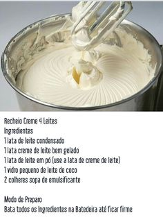 Recheio creme 4 leites Sweet Recipes, Cake Recipes, Gateaux Cake, Cake Fillings, Icing Recipe, Cake Boss, Cupcake Cakes, Cake Decorating, Sweet Treats