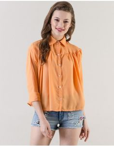 Orange Minuet Shirt