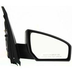 New Door Mirror Glass Replacement Passenger Side For GMC Sierra 1500 09-12