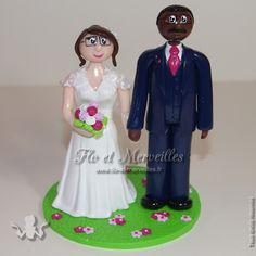 Wedding cake topper / figurines mariage personnalisées