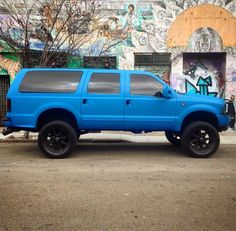 Lifted Excursion, Ford Excursion Diesel, Lincoln Aviator, Power Stroke, Ford Falcon, Car Colors, Ford Expedition, Lifted Trucks, Cool Trucks