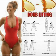 Boob lifting workout! Follow us (@physiquetutorials) for the best daily workout tips ⠀ All credits to respective owner(s) // @creatorofthings Tag a friend who'd like these tips