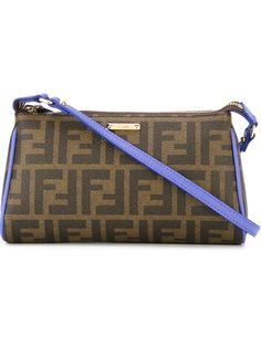 FENDI Ff Logo Crossbody Bag. #fendi #bags #shoulder bags #leather #crossbody