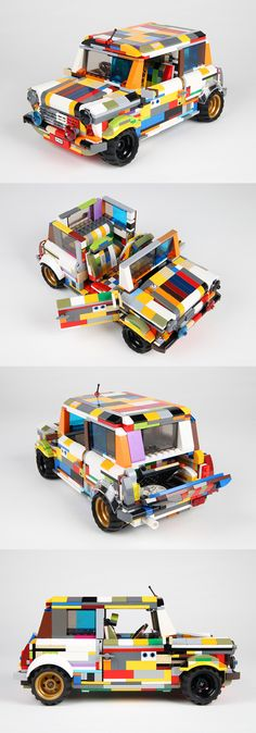 Here is Pelle's version of the Lego Mini Cooper.