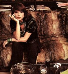 Italian Model and actress Elsa Martinelli in Chanel. Vogue, November 1973.