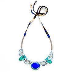Alexandra Jeweled Necklace   Ouistudio