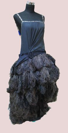 Ostrich feather costume worn by Julie Andrews: 'Star' THE VINTAGE FILM COSTUME COLLECTOR