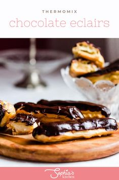 Thermomix Chocolate Eclairs are an amazing afternoon treat or dessert. The choux pastry is easily made in the Thermomix and ready in minutes!