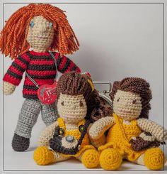 Hračky - Háčkovaný Kurt Cobain Nirvana amigurumi bábika  - 6152526_