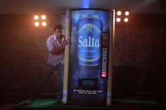 Ogilvy's 'Rugbeer' Vending Machine Dispenses Bottles When You Tackle It | Adweek