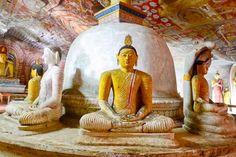 Dambulla Cave Golden Temple, Sri Lanka