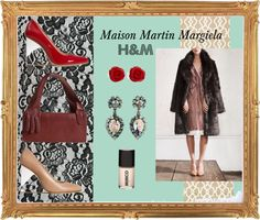 """""""Maison Martin Margiela with H"""" by awinwi ❤ liked on Polyvore"""