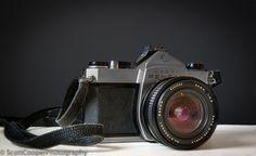 Old Pentax 35mm SLR Camera Scott Cooper Photography www.scottcooperphotography.co.uk Slr Camera, Portrait, Photos, Photography, Pictures, Photograph, Headshot Photography, Fotografie, Portrait Paintings