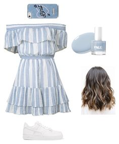 """""""Untitled #4"""" by timeea-corjuc on Polyvore featuring LoveShackFancy, NIKE and Skinnydip"""