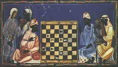 Jewish chess paintings | Chess--Al Andelus, 13th Cen CE
