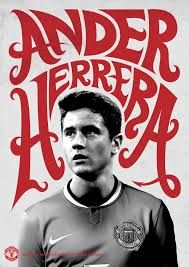 Special Ander Herrera poster designed by the Manchester United team at Old Trafford. Their graphic design team is amazing! Manchester United Wallpaper, Manchester United Legends, Manchester United Football, Happy 25th Birthday, Soccer Art, Premier League Champions, Best Football Team, Football Design, United We Stand