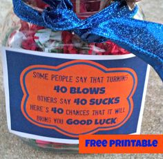 40 Chances Your Birthday Is Has Good Luck Perfect For Gift Men 50th