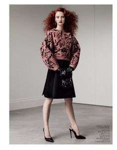 Vogue China Editorial August 2012 - Codie Young, Xiao Wen, Julia Frauche and Others by Daniel Jackson