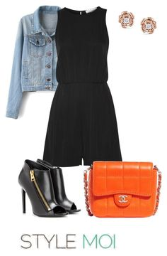 """Untitled #518"" by applelicious on Polyvore featuring Milly, Tom Ford, Chanel, Miadora and stylemoi"