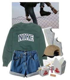 """hey"" by paper-freckles ❤ liked on Polyvore featuring NIKE, Patagonia and Chapstick"