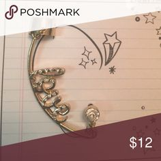 BOGO half off! Love ear cuff for pierced ears Half price with necklace purchase! Jewelry Earrings
