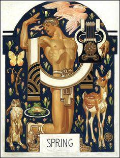 J. C. Leyendecker 1929 by Art & Vintage, via Flickr
