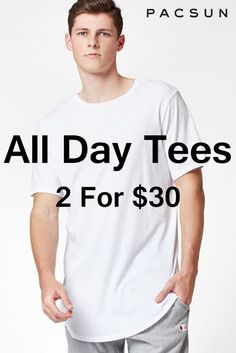 Pacsun Store is offers All Day Tees Tees 2 For $30 For More See At:  http://couponspromocodez.com/store/pacsun-coupons/ #men #shirt #sale #top #tee