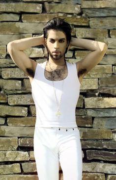 PRINCE in white.....aye papi!!!!