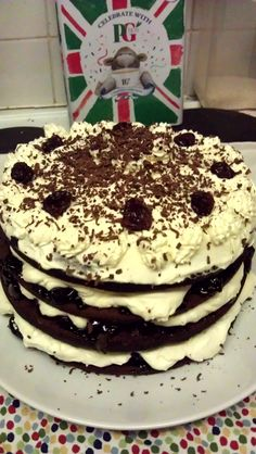 Black Forest gateau from the Hairy Bikers Bakeation