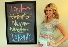 Comical look at Utah Motherhood Trends - crazy baby names, pregnancy pictures, maternity photo shoots, etc.