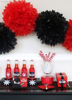 Ninja Warrior party supplies and ideas #BirthdayExpress