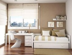 Small Space Design, Kids Room Design, Home Office Design, Small Spaces, Office Designs, Office Ideas, Design Design, Guest Bedroom Office, Home Bedroom