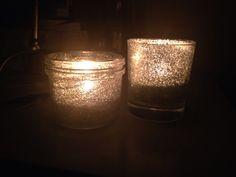 Glitter and glam :-) Homemade!